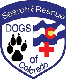 Search and Rescue Dogs of Colorado Logo